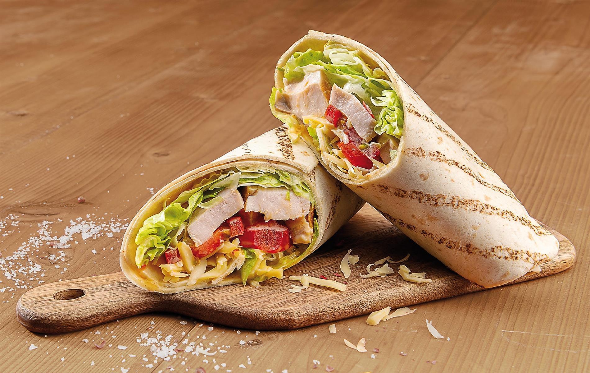 Wrap Chicken Fajita, + 50 bodů